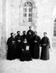 Palestine: Coptic monks in Jerusalem, c. 1920